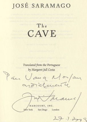 The Cave - 1st US Edition/1st Printing