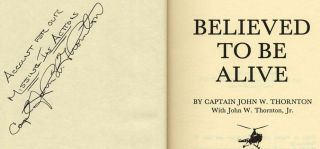 Believed to Be Alive - 1st Edition/1st Printing