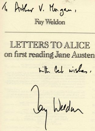 Letters to Alice on First Reading Jane Austen - 1st Edition/1st Printing