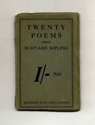 Twenty Poems. Rudyard Kipling