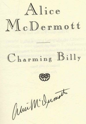 Charming Billy 1st US Edition/1st Printing