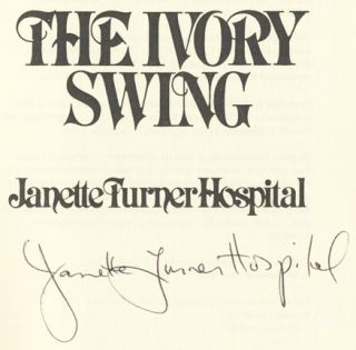 The Ivory Swing - 1st US Edition/1st Printing