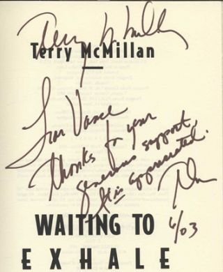 Waiting To Exhale - 1st Edition/1st Printing