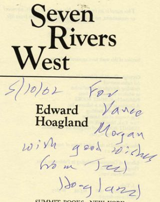 Seven Rivers West - 1st Edition/1st Printing
