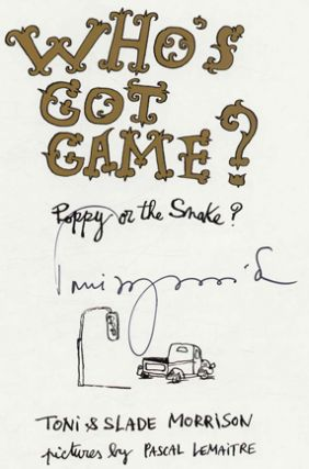 Who's Got Game? Poppy Or The Snake - 1st Edition/1st Printing