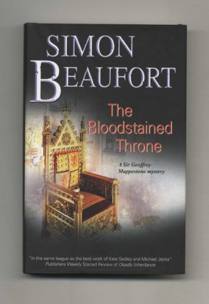 Bloodstained Throne - 1st UK Edition/1st Impression