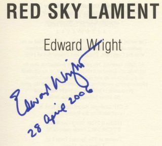 Red Sky Lament - 1st UK Edition/1st Impression
