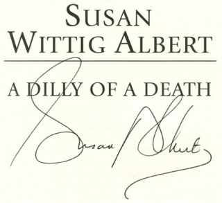 A Dilly of a Death - 1st Edition/1st Printing