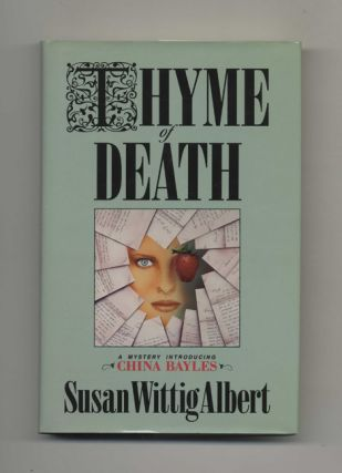 Thyme Of Death - 1st Edition/1st Printing. Susan Wittig Albert.
