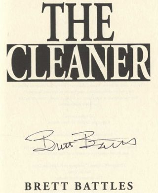 The Cleaner - 1st Edition/1st Printing