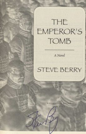The Emperor's Tomb: A Novel - 1st Edition/1st Printing