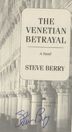 The Venetian Betrayal: A Novel - 1st Edition/1st Printing