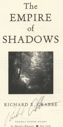 The Empire of Shadows -1st Edition/1st Printing