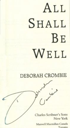 All Shall Be Well -1st Edition/1st Printing