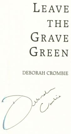 Leave the Grave Green -1st Edition/1st Printing