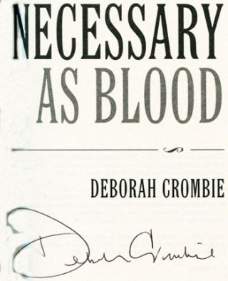 Necessary As Blood - 1st Edition/1st Printing