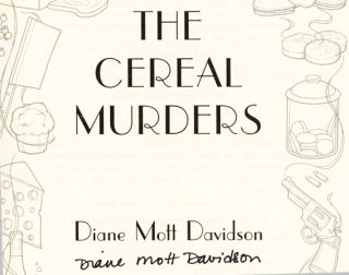 The Cereal Murders - 1st Edition/1st Printing