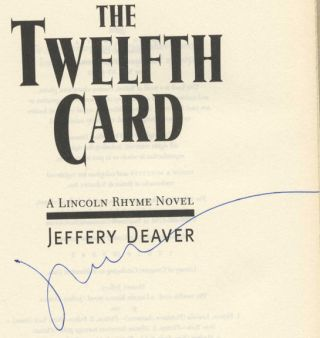 The Twelfth Card - 1st Edition/1st Printing
