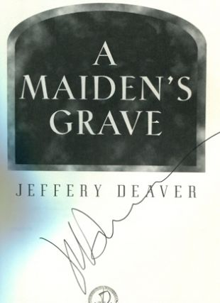 A Maiden's Grave - 1st Edition/1st Printing
