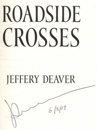 Roadside Crosses - 1st Edition/1st Printing