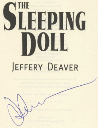 The Sleeping Doll - 1st Edition/1st Printing