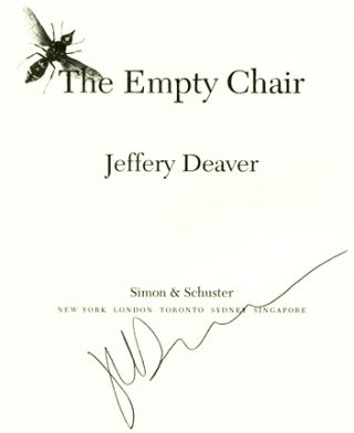 The Empty Chair - 1st Edition/1st Printing