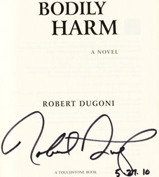 Bodily Harm - 1st Edition/1st Printing