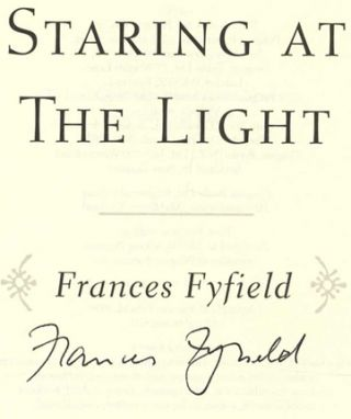 Staring At The Light - 1st US Edition/1st Printing