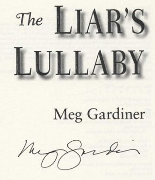 The Liar's Lullaby - 1st Edition/1st Printing