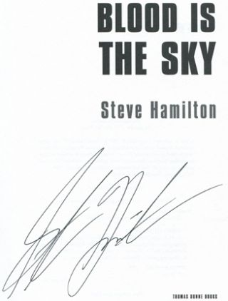 Blood Is the Sky -1st Edition/1st Printing