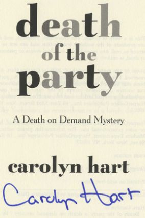 Death of the Party - 1st Edition/1st Printing
