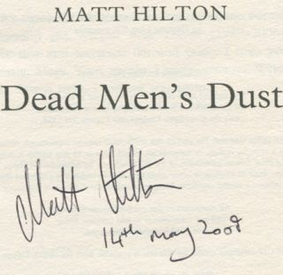 Dead Men's Dust - 1st Edition/1st Printing