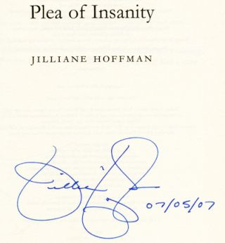 Plea Of Insanity - 1st Edition/1st Printing