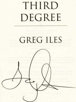 Third Degree - 1st Edition/1st Printing