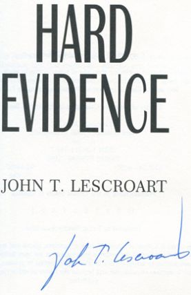 Hard Evidence -1st Edition/1st Printing