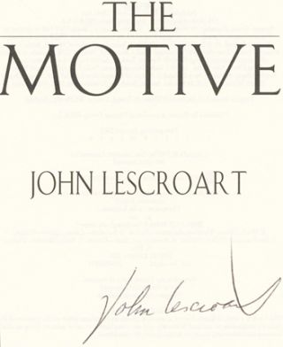 The Motive - 1st Edition/1st Printing