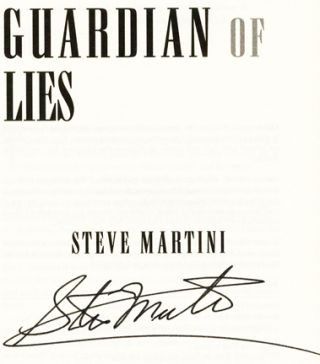 Guardian of Lies - 1st Edition/1st Printing