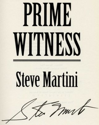 Prime Witness -1st Edition/1st Printing
