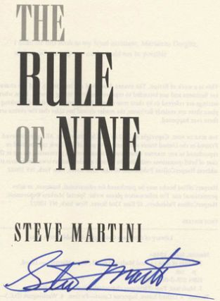 The Rule of Nine - 1st Edition/1st Printing