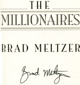 The Millionaires - 1st Edition/1st Printing