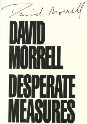 Desperate Measures - 1st Edition/1st Printing