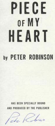 Piece of My Heart - 1st Edition/1st Printing