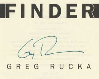 Finder - 1st Edition/1st Printing