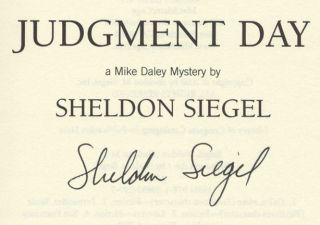 Judgment Day -1st Edition/1st Printing