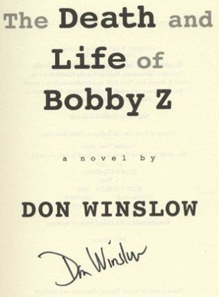 The Death and Life of Bobby Z -1st Edition/1st Printing