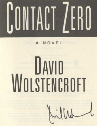 Contact Zero - 1st Edition/1st Printing