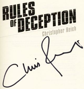 Rules of Deception - 1st Edition/1st Printing