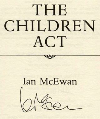 The Children Act - 1st Edition/1st Printing