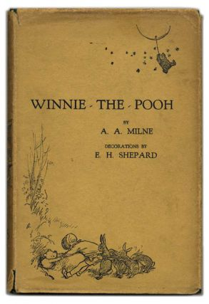 Winnie The Pooh; With Decorations By Ernest H. Shepard - 1st Edition. A. A. Milne.