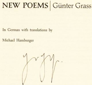 New Poems - 1st US Edition/1st Printing